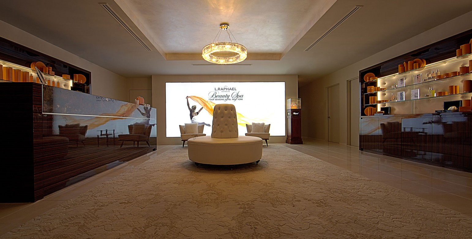 L. RAPHAEL BEAUTY SPA FOR HOTEL MARTINEZ