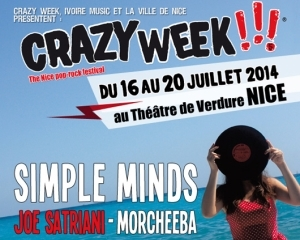 """Crazy Week !!!"", ""The Nice pop-rock festival"", 5e édition"