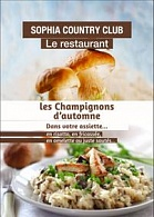 Sophia Country Club - Le Restaurant